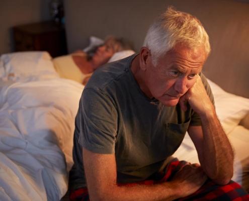 Herzbeklemmung und Herzbeschwerden bei Schlafstörungen