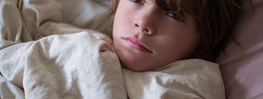 Kind kann nicht schlafen