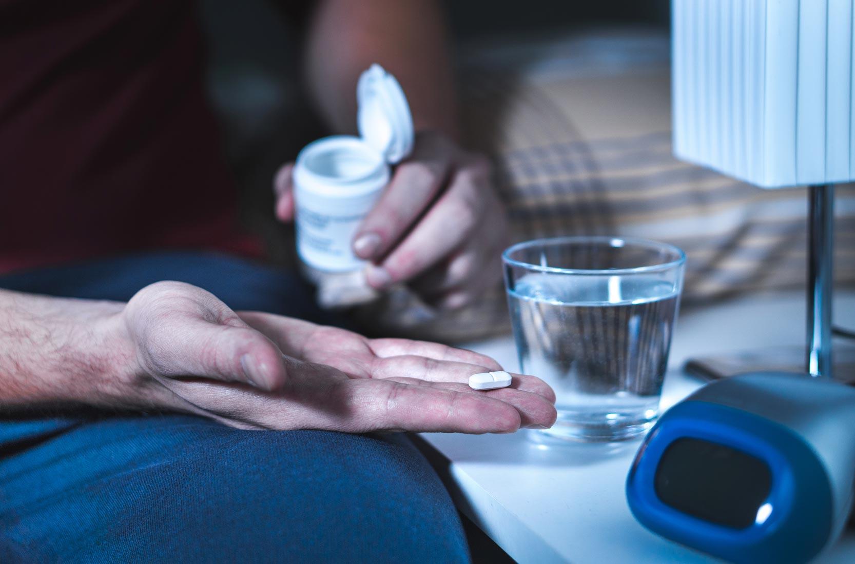 Schlafstörungen behandeln mit Medikamente