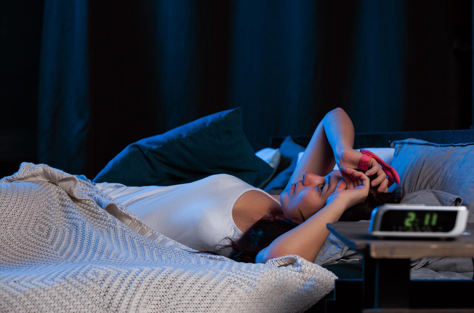 Schlafstörungen Ursachen Frauen