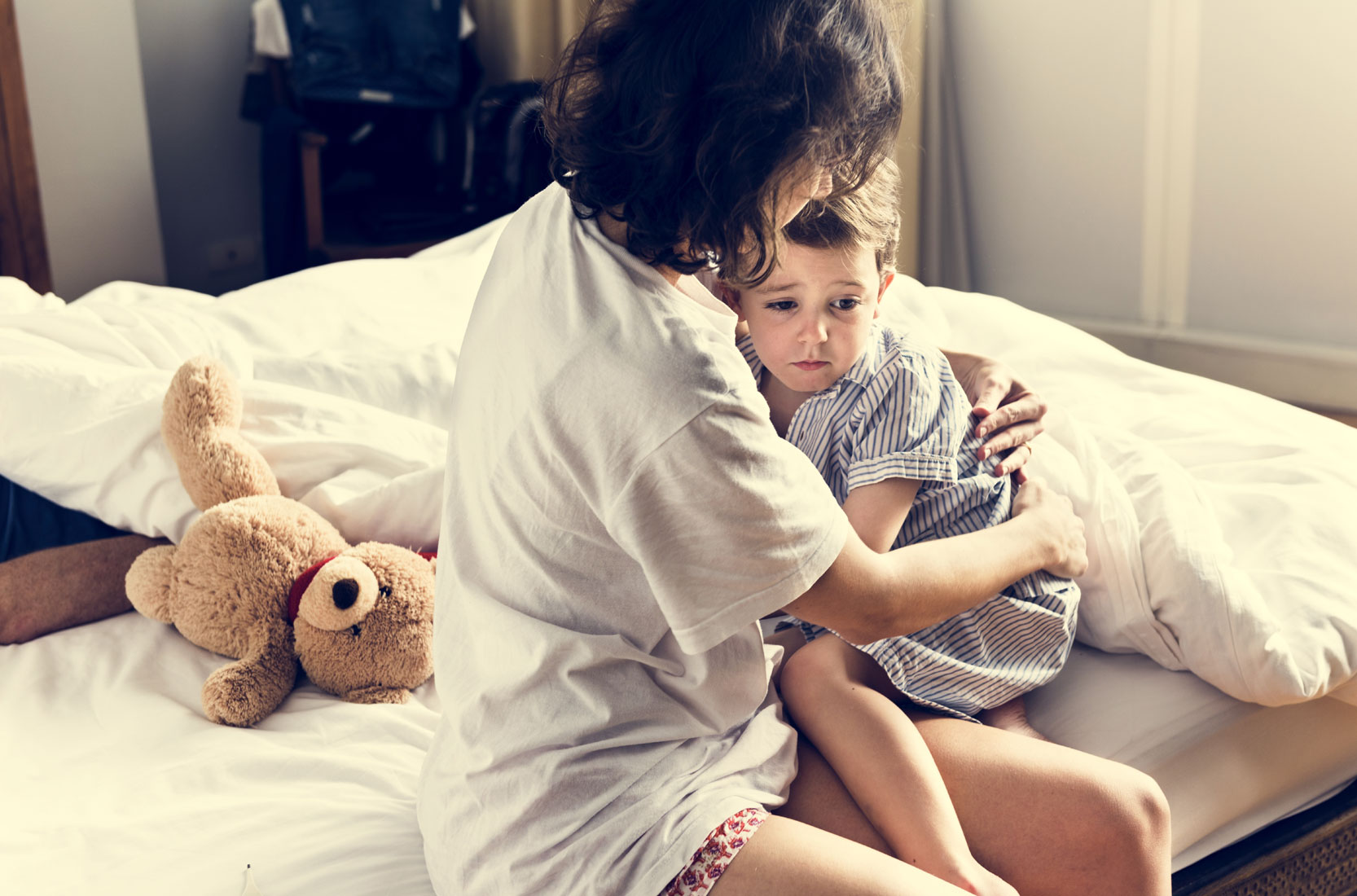 Einschlafstörungen bei Kind