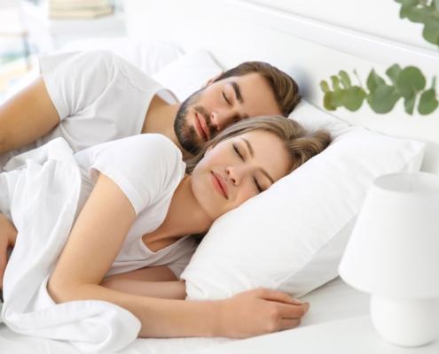 Gesund schlafen ohne Wasserader