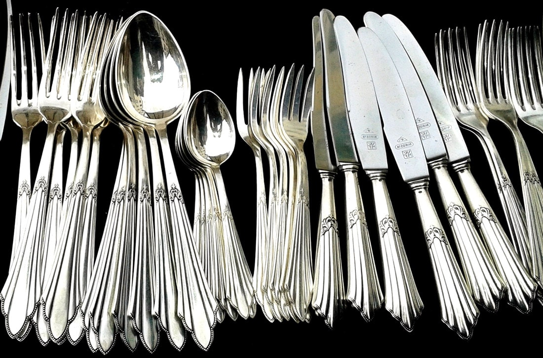 Silberbesteck und Kolloidales Silber